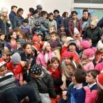 De sarbatori, Fundatia Scheherazade imparte bucurie la Bucsani (3)